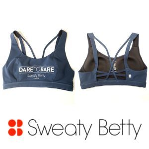 SWEATY BETTY Dare to Bare Sports Bra size Small